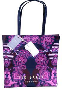 Ted Baker Nwt Exclusive Pvc Tote in Multi Colored