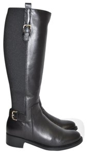 La Canadienne Riding Knee High BLACK leather Boots