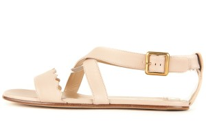 Chlo Blush Tan Sandals
