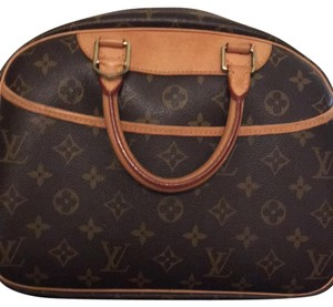 Louis Vuitton Satchel in Original Logo