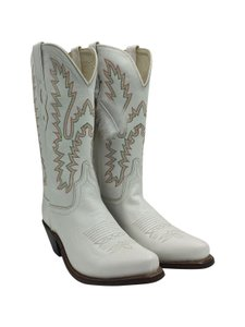 Old West White Boots