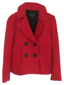 Banana Republic Winter Cropped Holiday Pea Coat