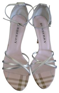 Burberry Silver/pink Formal