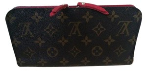 Louis Vuitton Louis Vuitton Monogram Red Insolite Wallet