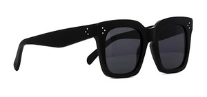 Cline CL 41076 S 807 (color) BLACK -GRAY LENS - OVERSIZED CELINE TILDA FREE 3 DAY SHIPPING