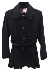 Guess Pleated Wool Coat
