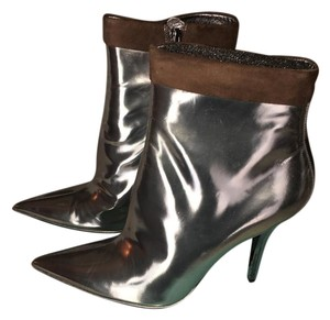 Guess By Marciano Silver Boots