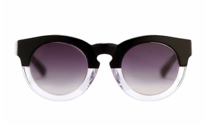3.1 Phillip Lim New Two Tone Keyhole Round Frame Sunglasses, PL38