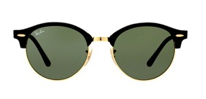 Ray-Ban Ray Ban Clubround RB 4246 901 BLACK -FREE 3 DAY SHIPPING-