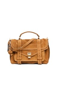Proenza Schouler Proenza Ps1 Leather Satchel in Tobacco