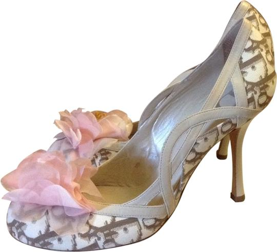 Preload https://item5.tradesy.com/images/dior-cream-and-brown-pumps-1960579-0-0.jpg?width=440&height=440