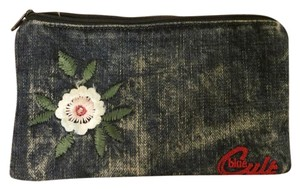 Blue Cult Blue Cult Denim and Embroidered Case