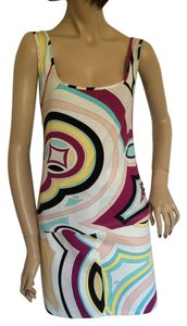 Emilio Pucci short dress White, fushia, turquoise, off white, black tan on Tradesy