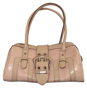 Guess Satchel in Bone