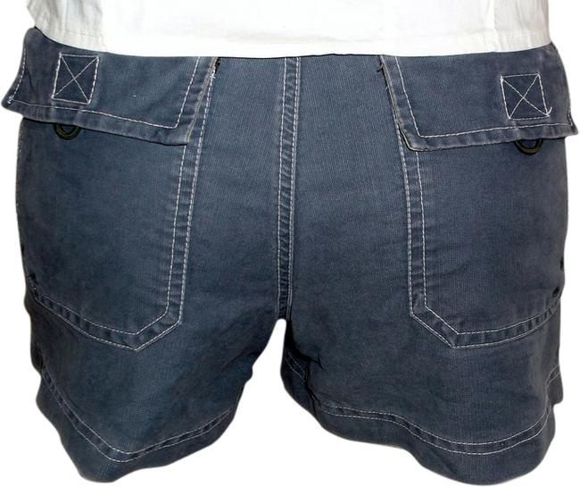 Item - Gray With Pockets Front & Back Velcro & Button Front Women's Inv581 Shorts Size 4 (S, 27)