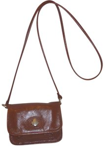 Fossil Refurbished Leather Red Cross Body Bag