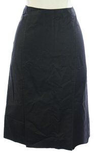 Ellen Tracy Knee Length Maxi Skirt Black