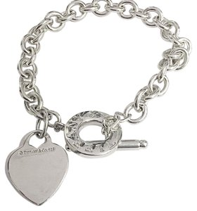 Tiffany & Co. Tiffany And Company Hesrt Toggle Bracelet