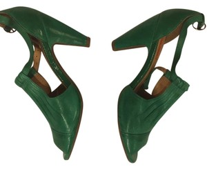 Miz Mooz Green Pumps