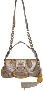 Guess Nwot Ostrich Embossed Cross Body Bag