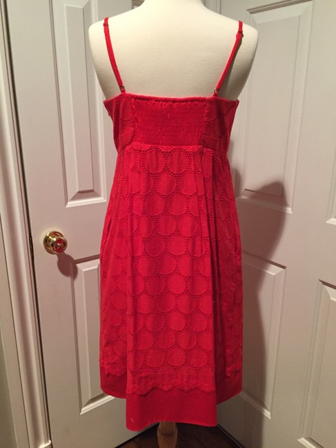 Donna Morgan short dress Red/Orange on Tradesy