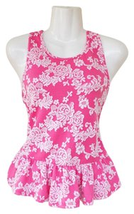 Mary Jane Top pink, white