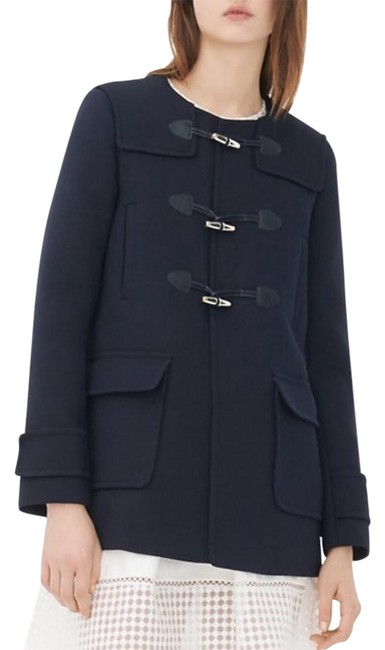 Preload https://img-static.tradesy.com/item/19606967/sandro-black-mathea-toggle-pea-coat-size-6-s-0-1-650-650.jpg