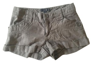 Forever 21 Cuffed Shorts brown