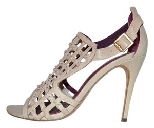 Tracy Reese Sandal Woven Summer nude Pumps