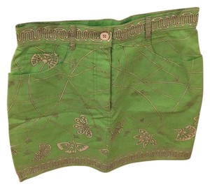 Emilio Pucci Mini Skirt Green