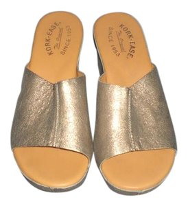 Kork-Ease GOLD Mules