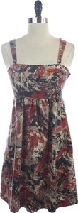 Kensie Pretty Floral Silk Dress