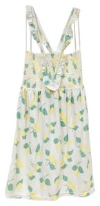 Juicy Couture short dress White, Yellow, Green on Tradesy