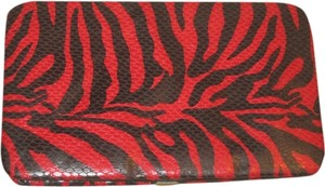 Behringer Red/Black Zebra Wallet