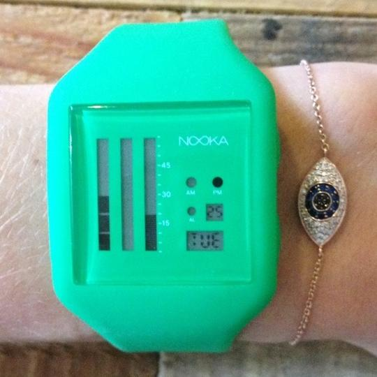 Nooka Nooka Zub Green Watch