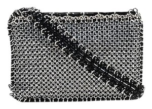 Other Paco Rabanne Tone Black Patent Mixed Chain Mail Shoulder Bag