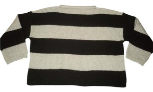 Ann Taylor Striped Oversized Boxy Soft Sweater