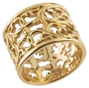 Emmyandellie 14k gold ring filagree design