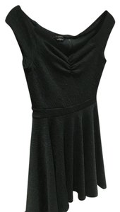 bebe short dress Forest Green Fit And Flare on Tradesy