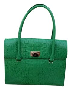 Kate Spade Sinclair Satchel in Orchard Valley Green