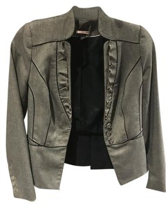 White House | Black Market Silver Hardware Grey Blazer