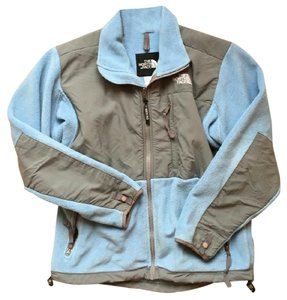 The North Face Sky Blue and Gray Jacket