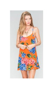 Show Me Your Mumu short dress Multi Color Spaghetti Strap Rayon Sexy Cute on Tradesy