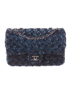 Chanel Sequin Flap Shoulder Bag
