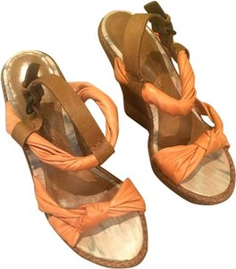 AllSaints Peach Wedges