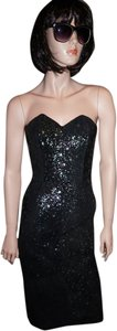 Other Leather Metallic Sweetheart Fitted Unique Prom Party Dress