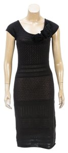 Catherine Malandrino short dress Black/Nude on Tradesy