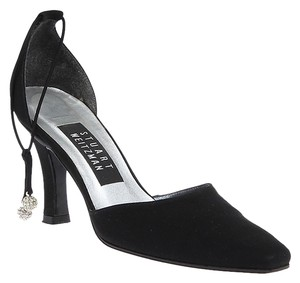 Stuart Weitzman Nylon Ankle Black Formal