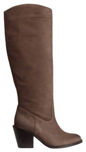 H&M Genuine Leather Leather Brown Boots