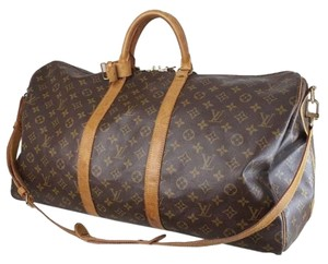 Louis Vuitton Keepall 55 Monogram Travel Bag